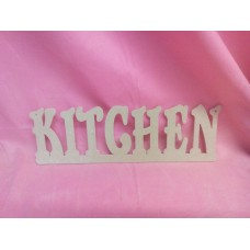 4mm Thick MDF hanging plaque  KITCHEN